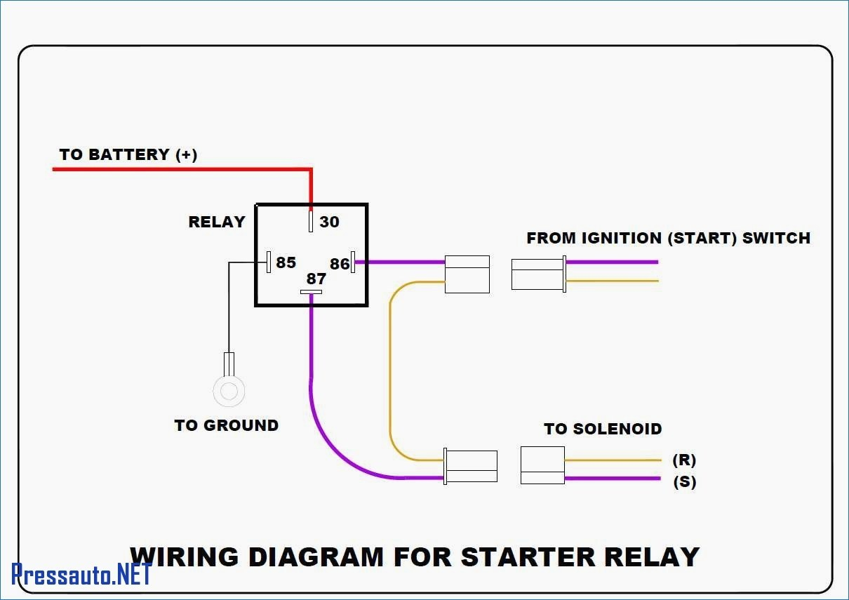 Mopar Starter Relay Wiring Diagram - Mopar Starter Relay Wiring Diagram