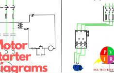 Motor Starter Diagram. Start Stop 3 Wire Control. Starting A Three   Magnetic Starter Wiring Diagram
