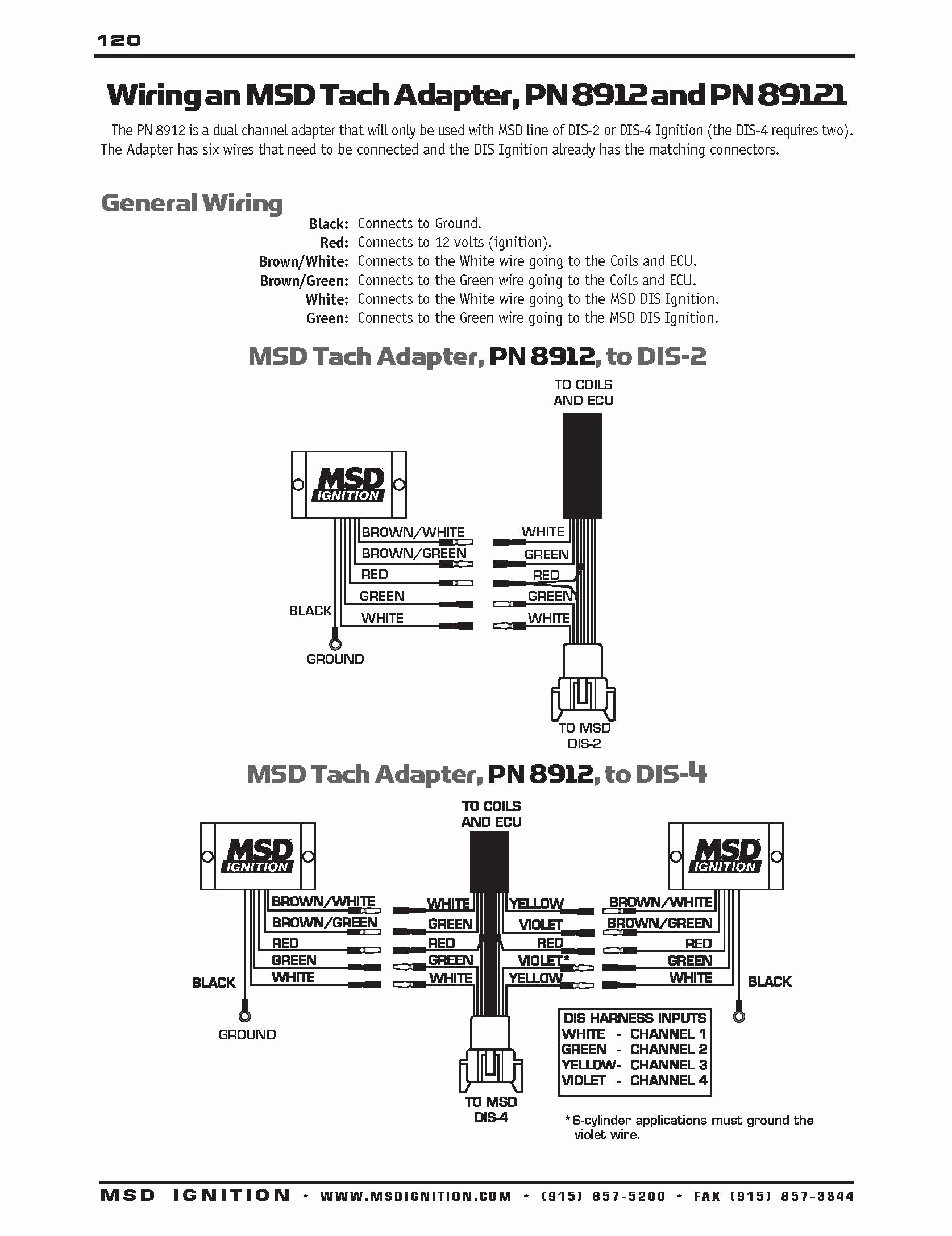 hei msd 6a tach wiring | wiring liry - msd digital 6 plus wiring