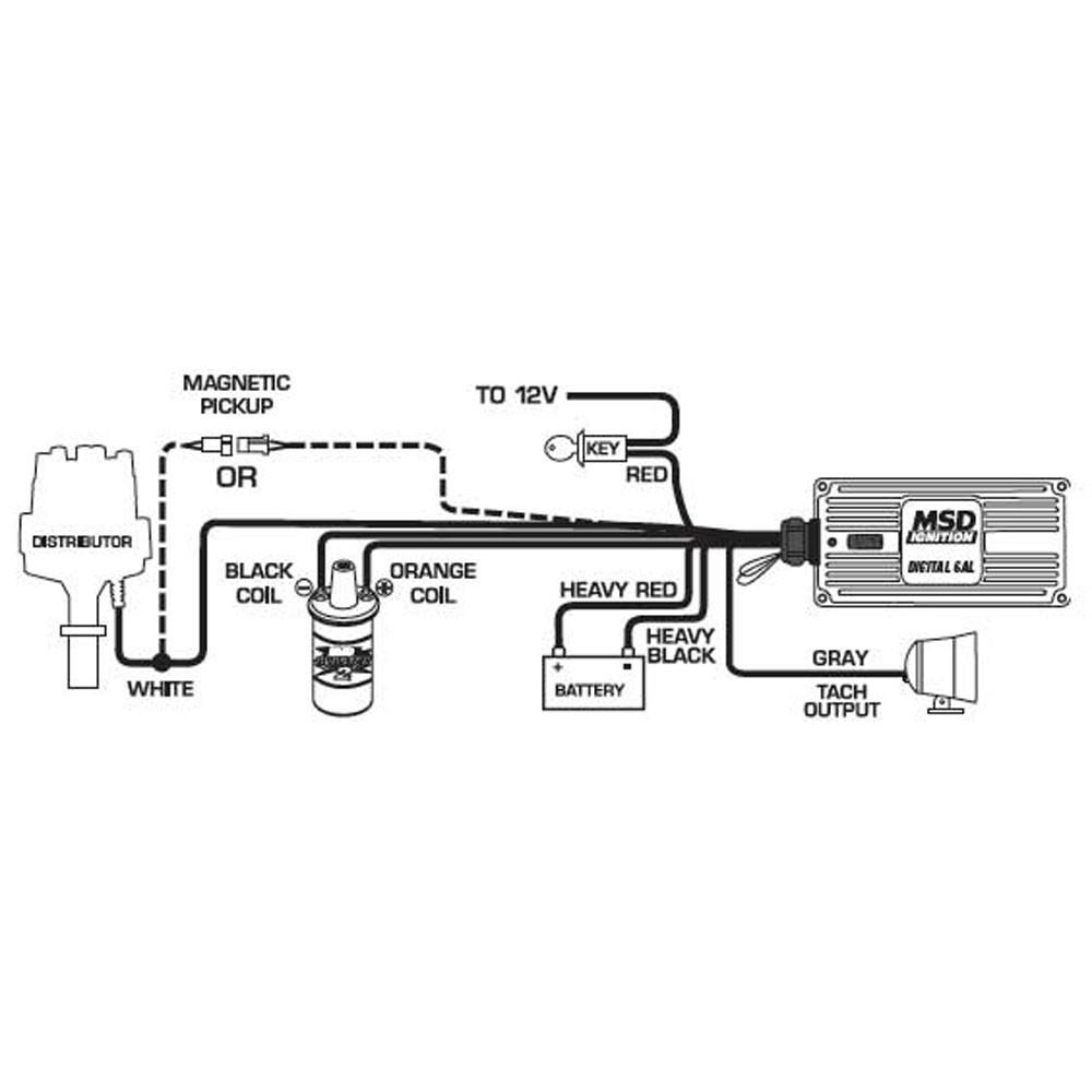Msd 6A Wiring Ford - Wiring Diagrams Hubs - Msd Digital 6Al Wiring Diagram