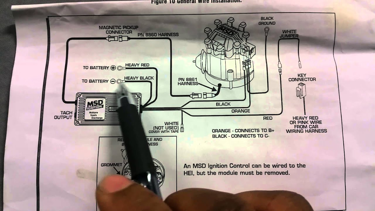 Msd 6Al Wiring Diagram Chevy - Wiring Diagrams Hubs - Msd 6Al Wiring Diagram Chevy