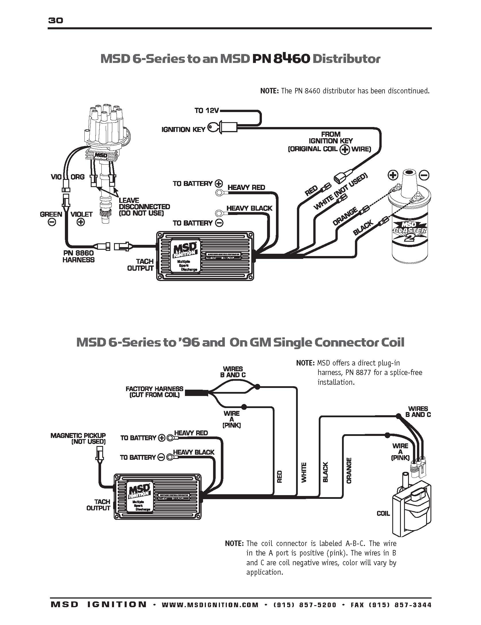 Msd Distributor Wiring Diagram Two Wire - Wiring Diagrams Hubs - Msd Distributor Wiring Diagram