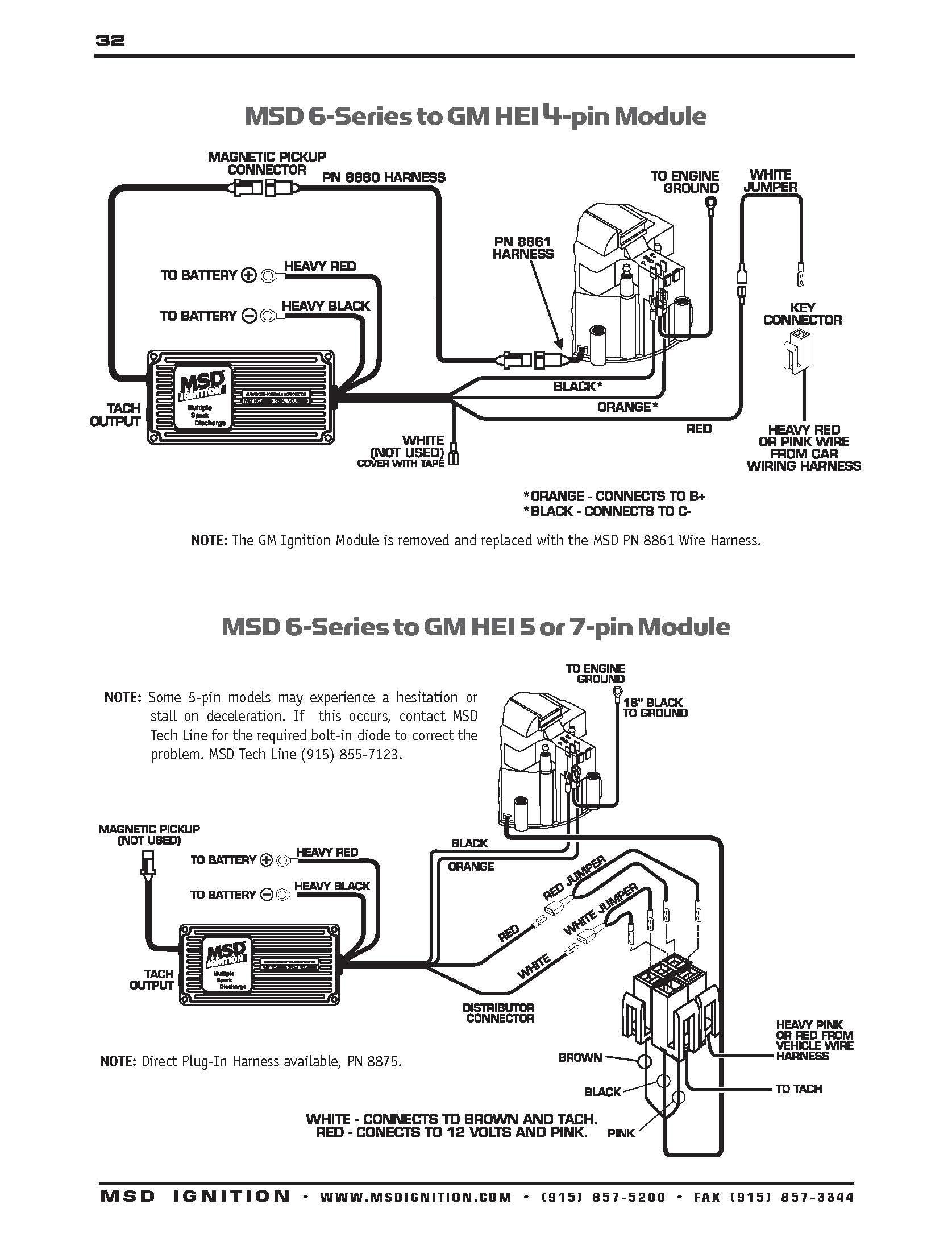 Msd Ignition 6Al Wiring Diagram | Manual E-Books - Msd Digital 6Al Wiring Diagram