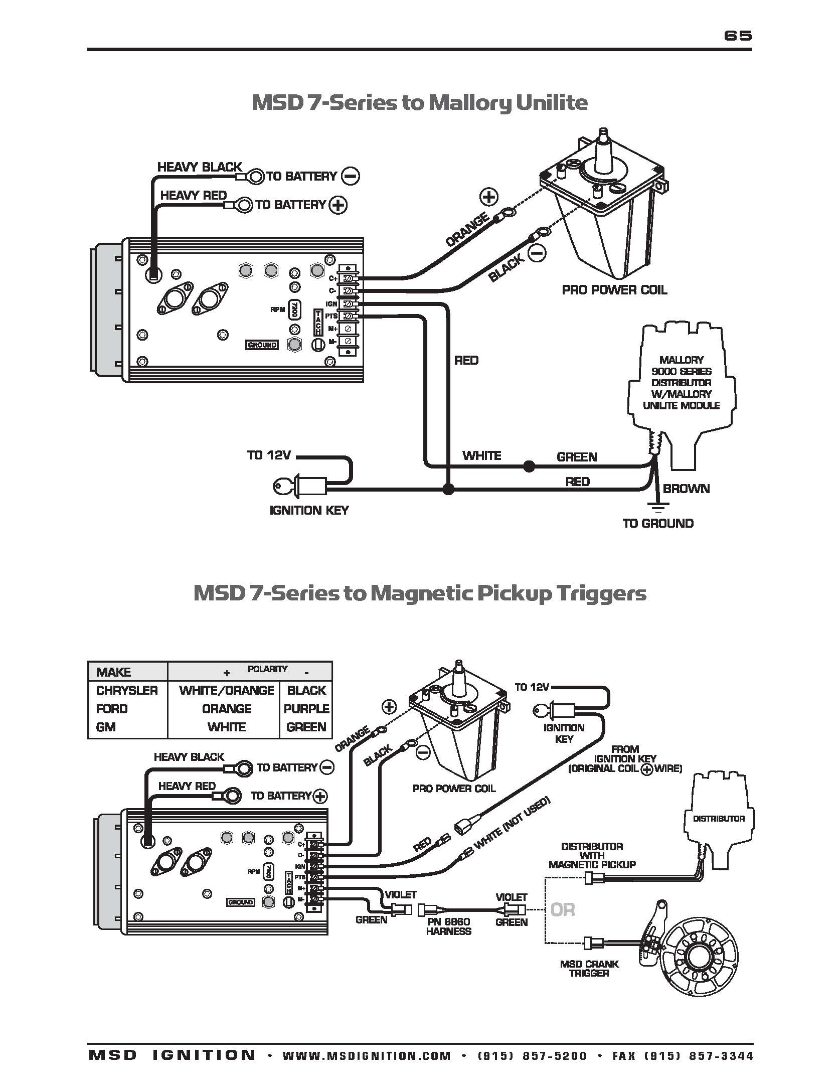 Msd Ignition Wiring Diagram For 351 - Wiring Diagram Blog - Msd Distributor Wiring Diagram