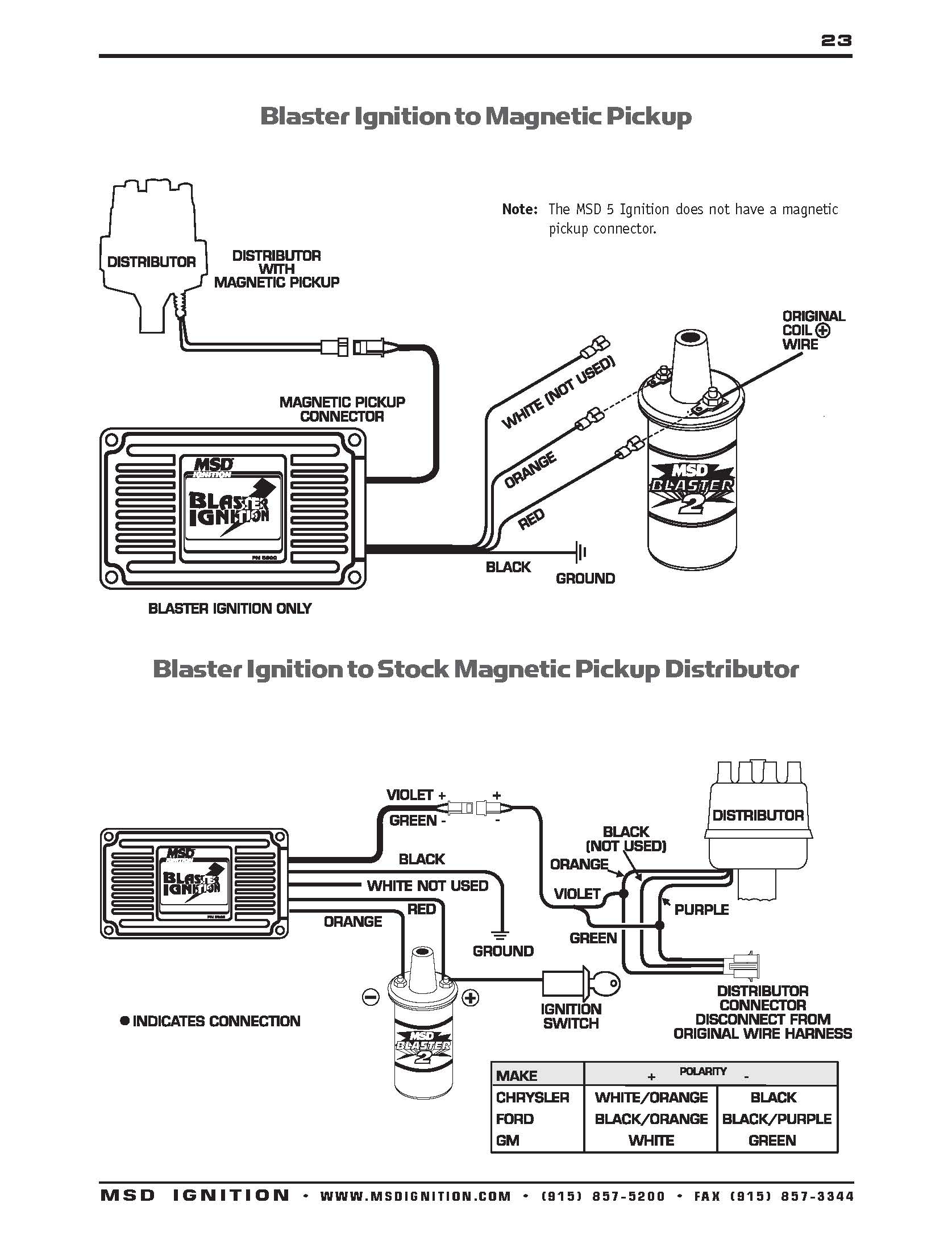 Msd Ignition Wiring Diagram - Wiring Diagrams Hubs - Msd Ignition Wiring Diagram Chevy