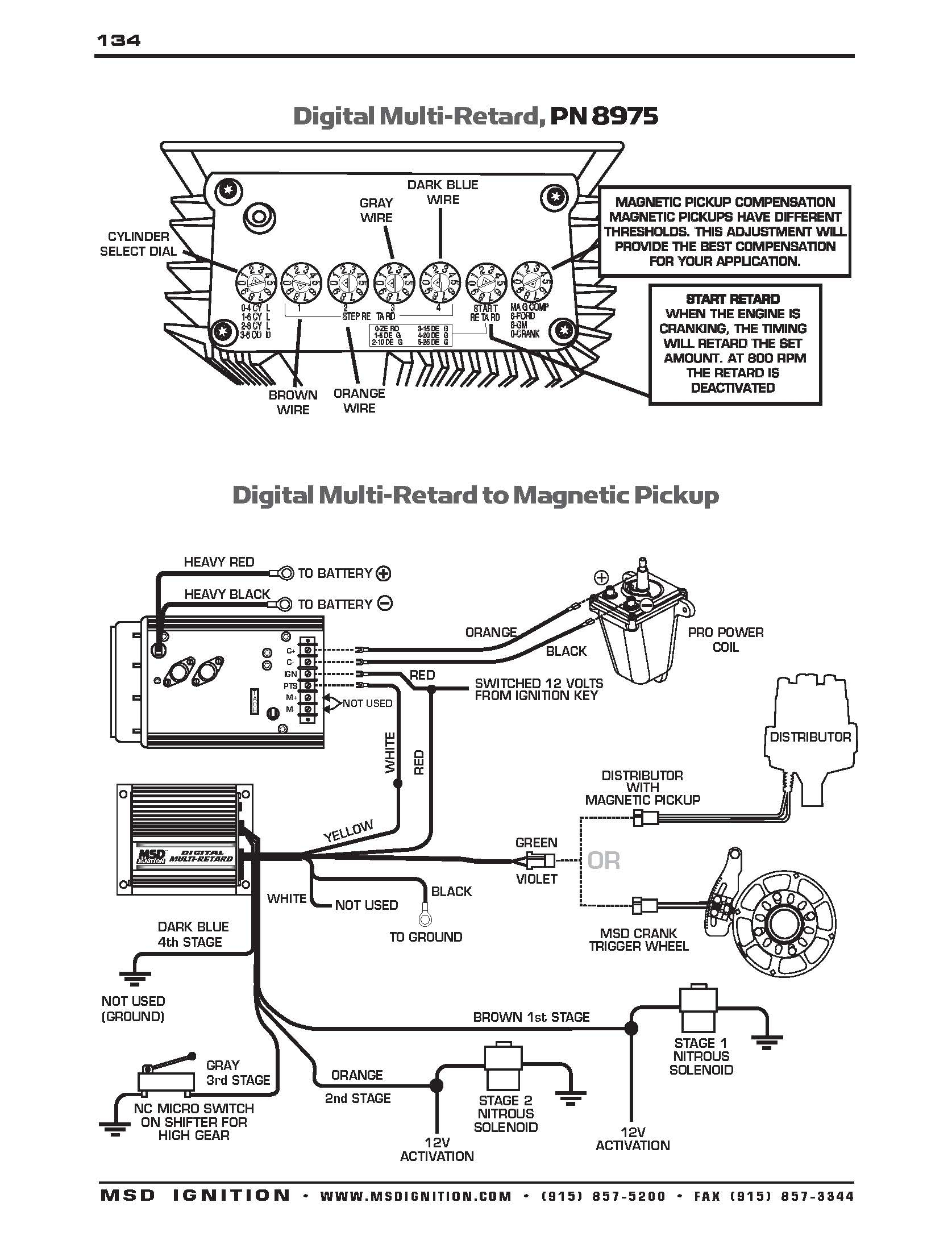 Msd Wiring Diagrams – Brianesser - Msd 2 Step Wiring Diagram