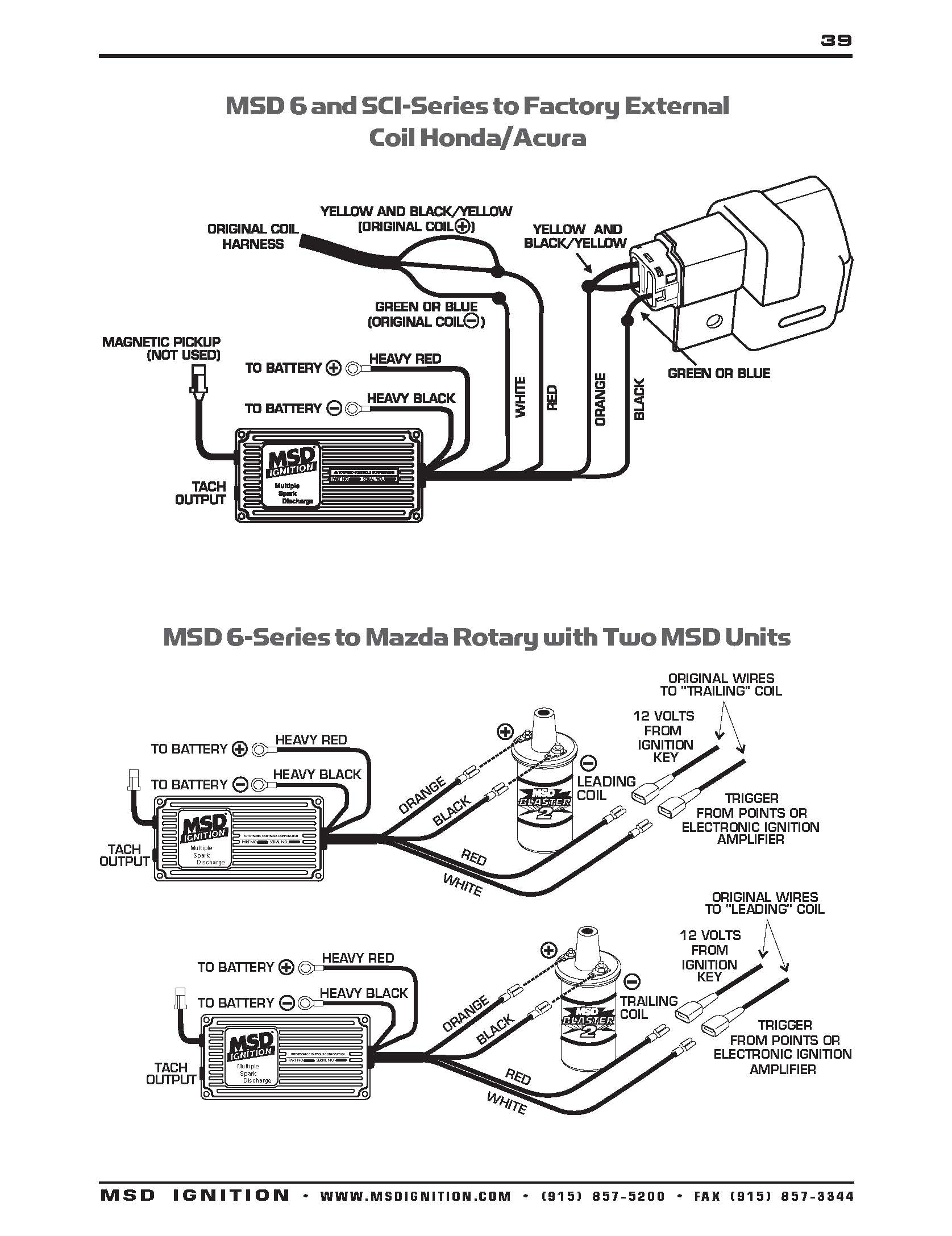 Msd Wiring Diagrams – Brianesser - Msd 6A Wiring Diagram