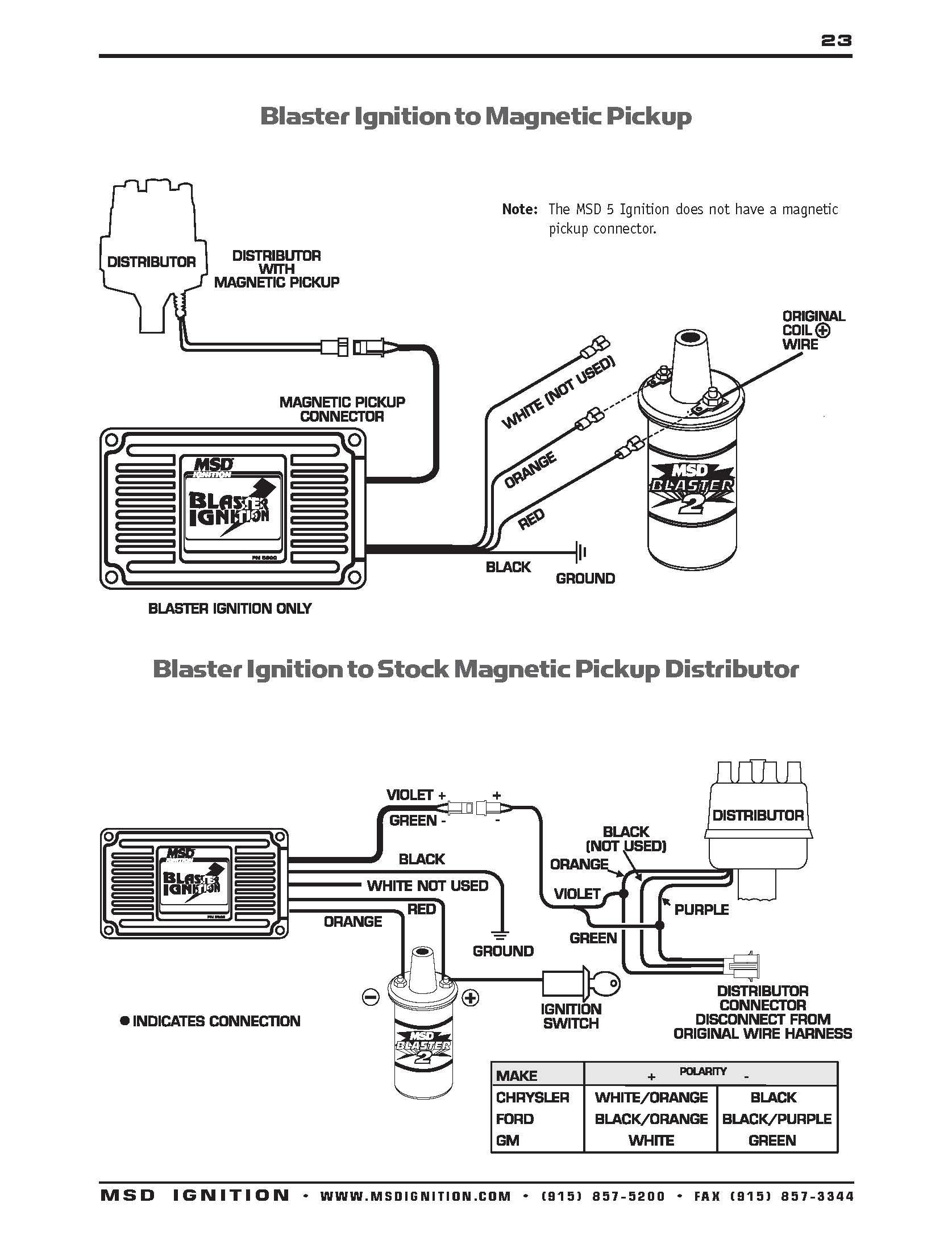Msd Wiring Diagrams – Brianesser - Msd Distributor Wiring Diagram