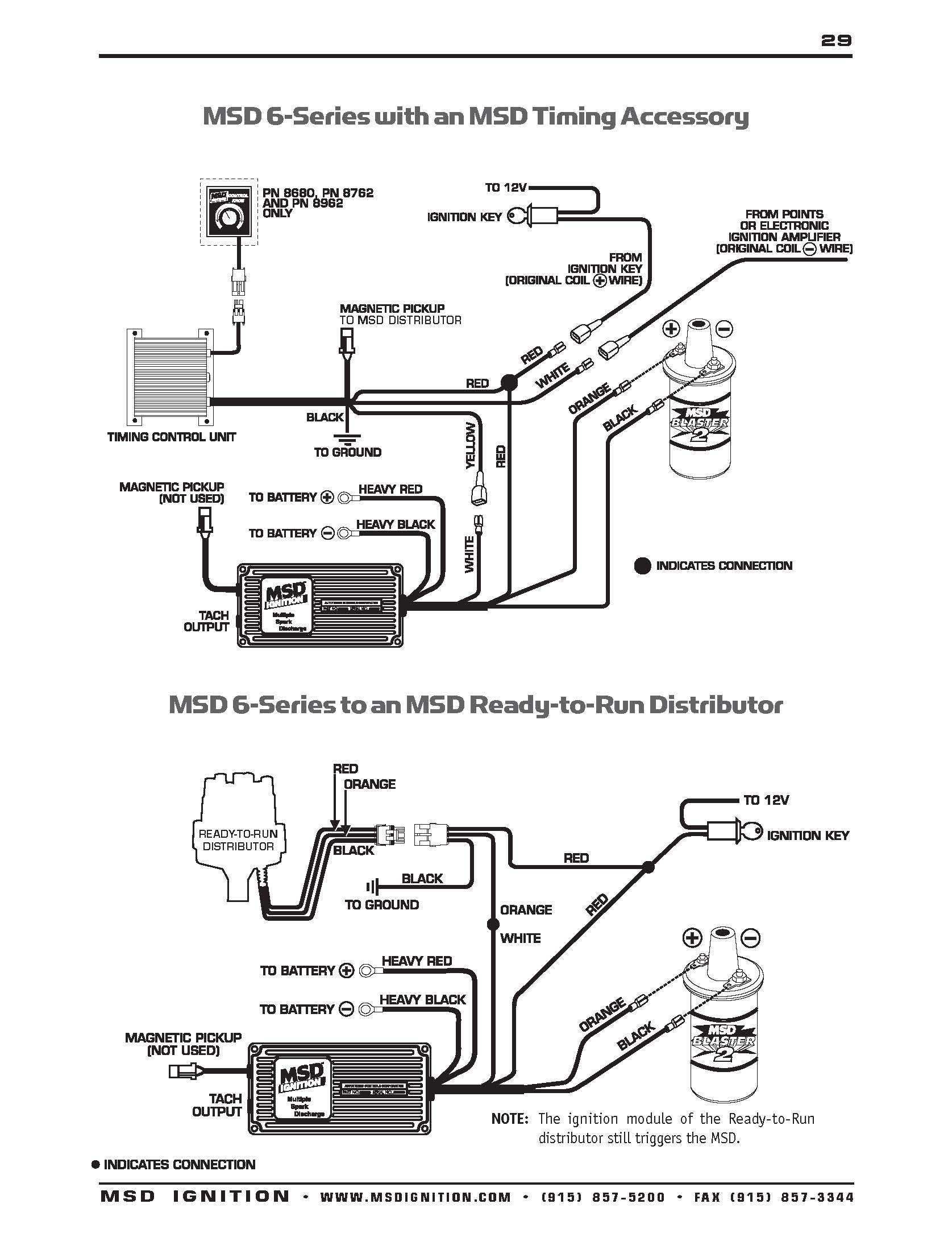 Msd Wiring Diagrams – Brianesser - Msd Wiring Diagram