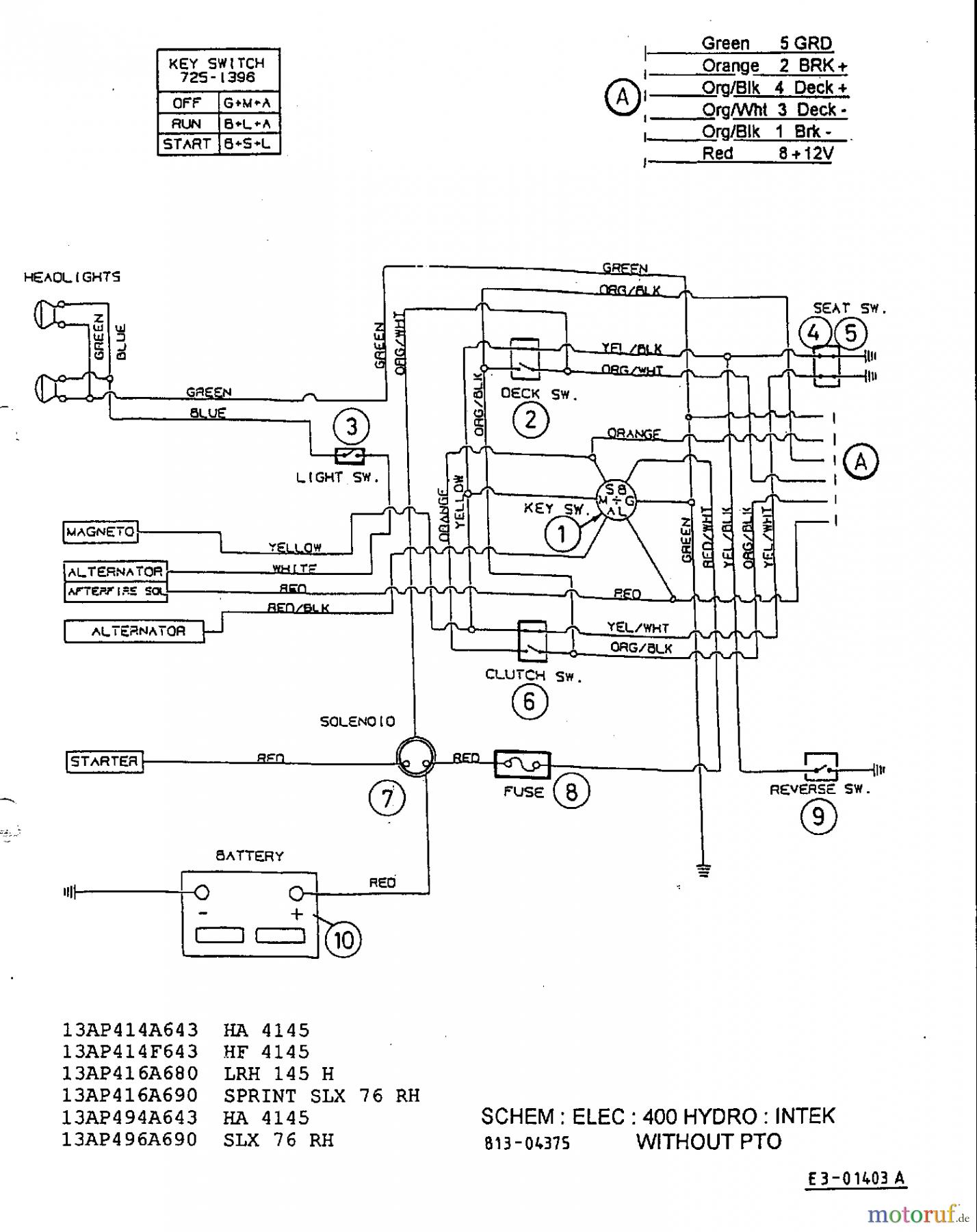 Mtd Lawn Mower Wiring Diagram | Wiring Diagram - Riding Mower Wiring Diagram
