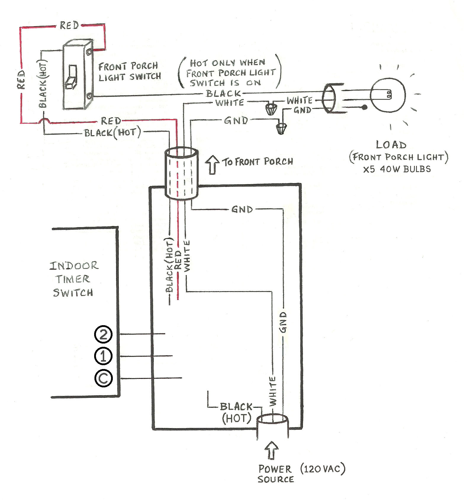 Need Help Wiring A 3-Way Honeywell Digital Timer Switch - Home - Wiring Diagram Light Switch