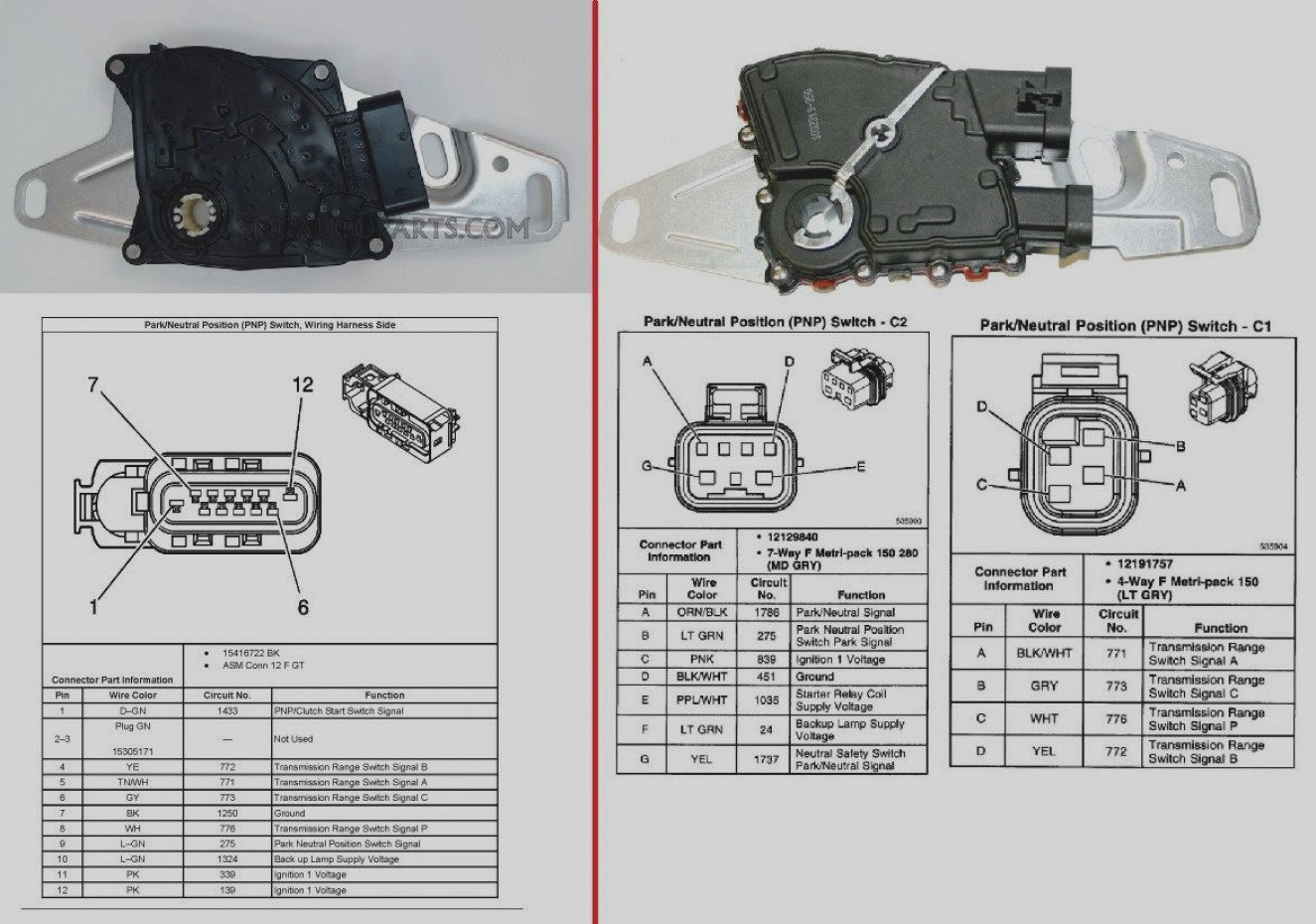 Neutral Safety Relay Wiring Diagram | Wiring Library - Neutral Safety Switch Wiring Diagram Chevy