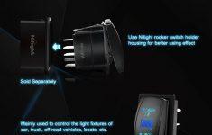 Nilight Momentary Laser Rocker Switch 7Pin Winch In Winch Wiring – 7 Pin Rocker Switch Wiring Diagram