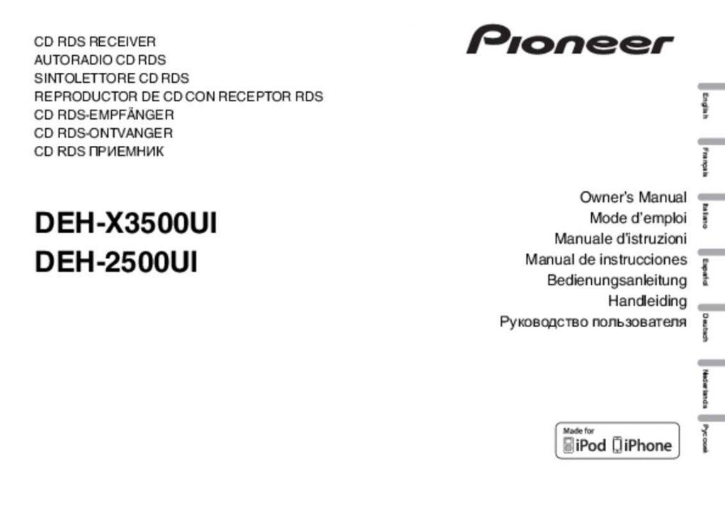Fantastic Pioneer Deh X3500Ui Wiring Diagram Wirings Diagram Wiring Digital Resources Indicompassionincorg