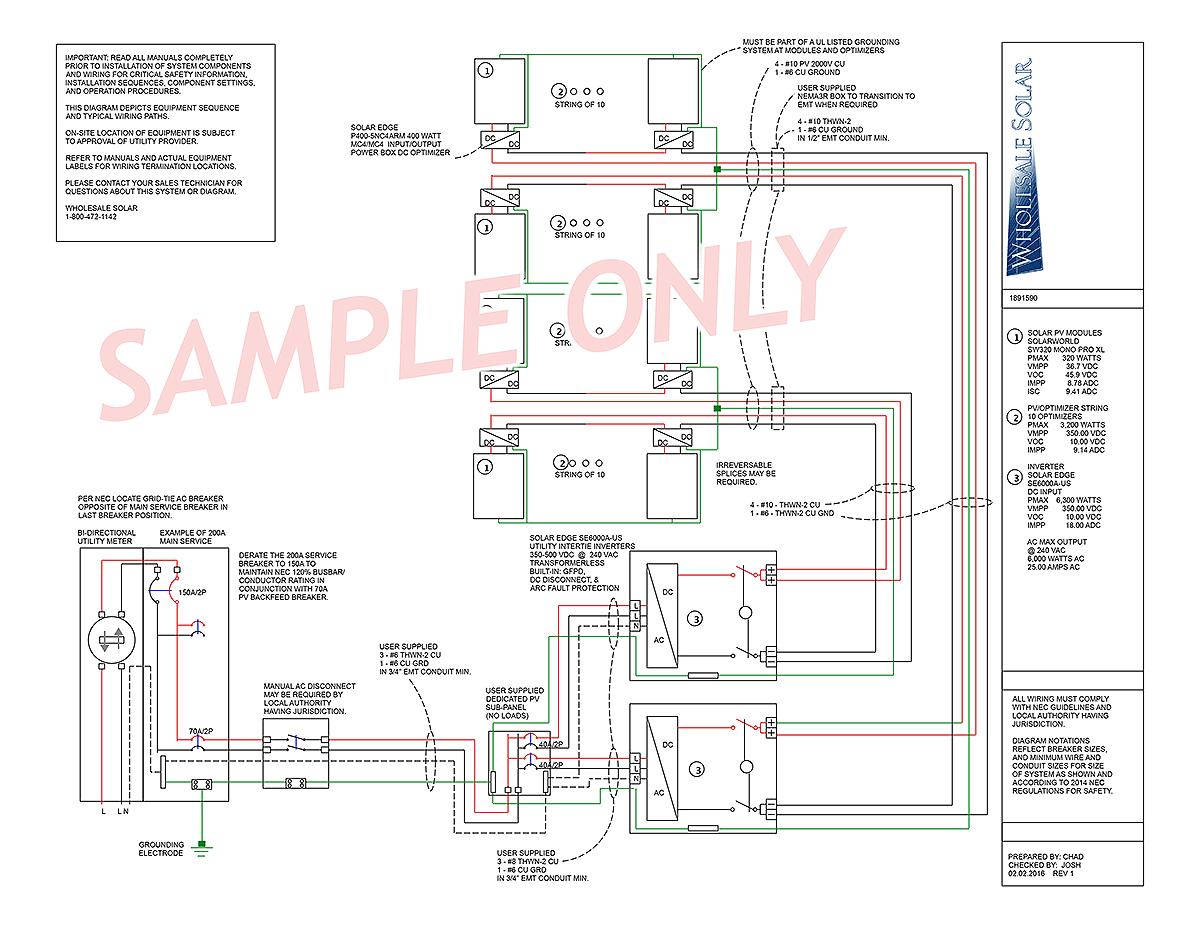 Off Grid Solar Panel Wiring Diagram | Manual E-Books - Off Grid Solar System Wiring Diagram