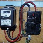 Old Ferranti Electricity Meter   Electric Meter Wiring Diagram
