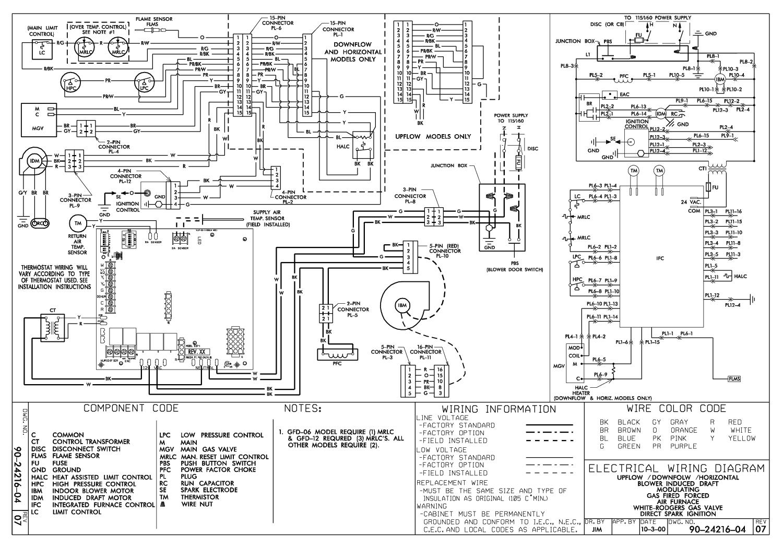 Older Gas Furnace Wiring Diagram   Wiring Diagram - Gas Furnace Wiring Diagram