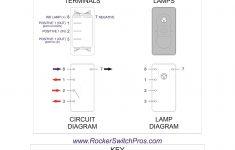 On On   Rocker Switch   Ind Lamp   Three Way Rocker Switch   Carling Switch Wiring Diagram