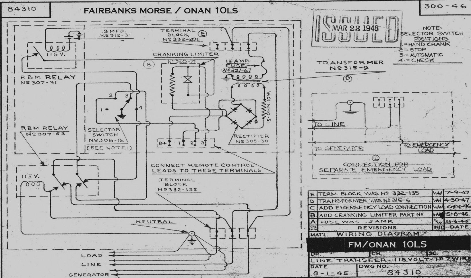 Onan Emerald Generator Wiring Diagram Ther With - All Wiring Diagram - Onan Rv Generator Wiring Diagram