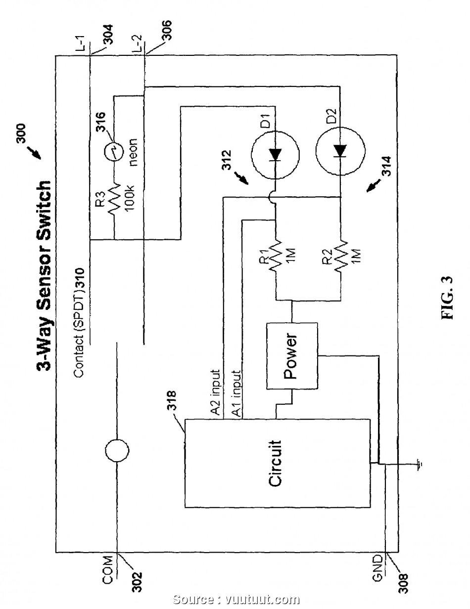 Outdoor Motion Sensor Light Switch Wiring Diagram | Wiring Diagram - 3 Way Motion Sensor Switch Wiring Diagram