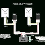 Parallel Charging Using Multiple Controllers With Separate Pv Arrays   Parallel Wiring Diagram