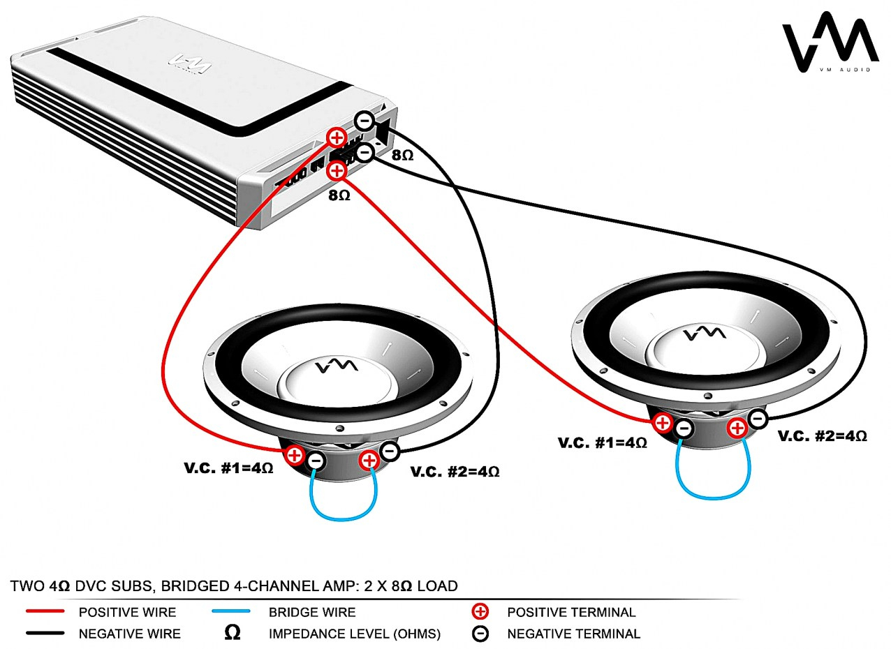 Parallel Dual Voice Coil Wire Diagram - Wiring Diagram Name - Dual Voice Coil Wiring Diagram