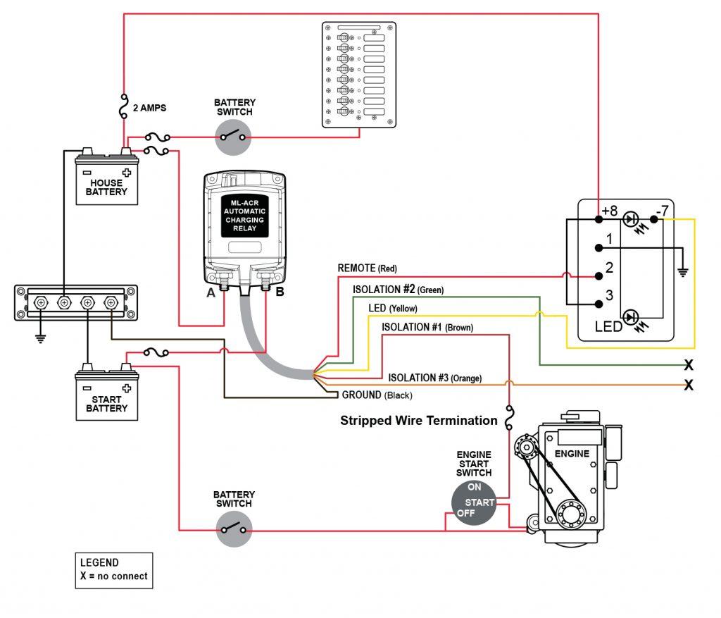 Astounding Perko Battery Switch Instructions Basic Electronics Wiring Diagram Wiring Cloud Favobieswglorg