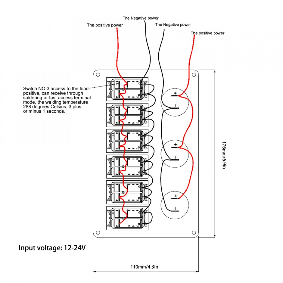 Pictures Led Rocker Switch Wiring Diagram 4 Pin Toggle Wellread Pole - 4 Pin Rocker Switch Wiring Diagram