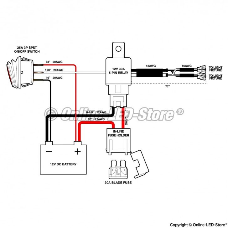 Relay Switch Wiring Diagram