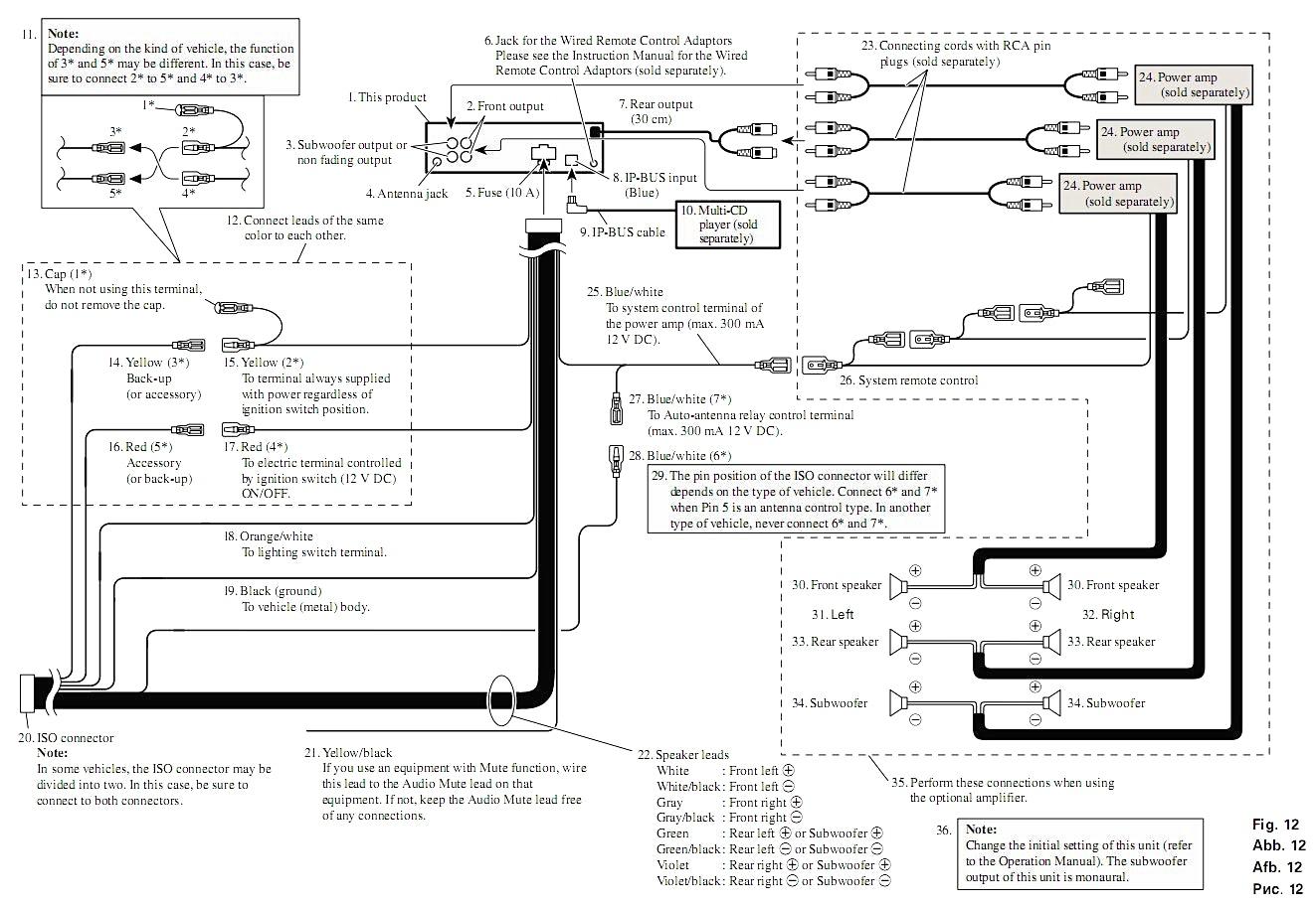 Pioneer 16 Pin Wiring Diagram - Wiring Diagrams Hubs - Pioneer Mvh-291Bt Wiring Diagram