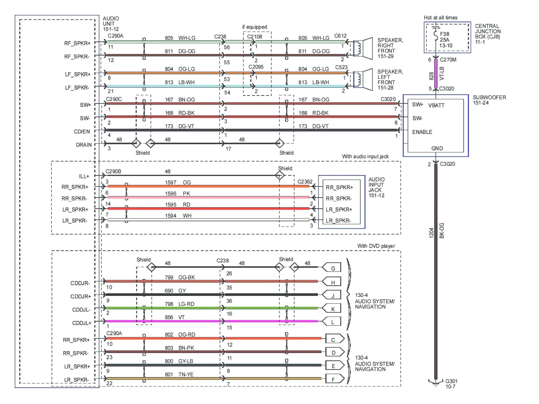 Pioneer Avh 280Bt Wiring Diagram | Manual E-Books - Pioneer Avh-280Bt Wiring Diagram