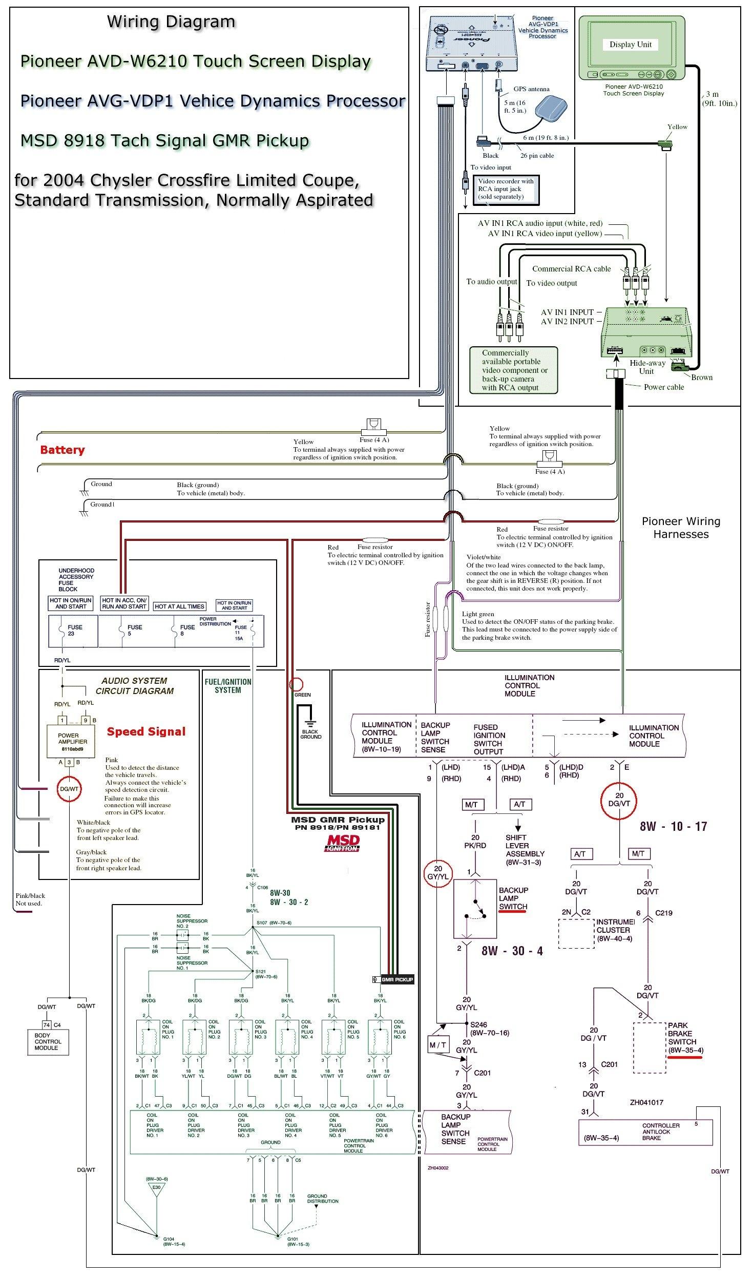 Pioneer Avh 280Bt Wiring Diagram   Wiring Diagram - Pioneer Avh 280Bt Wiring Diagram