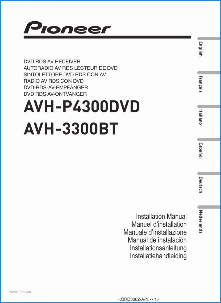Pioneer Avh P2300Dvd Wiring Diagram