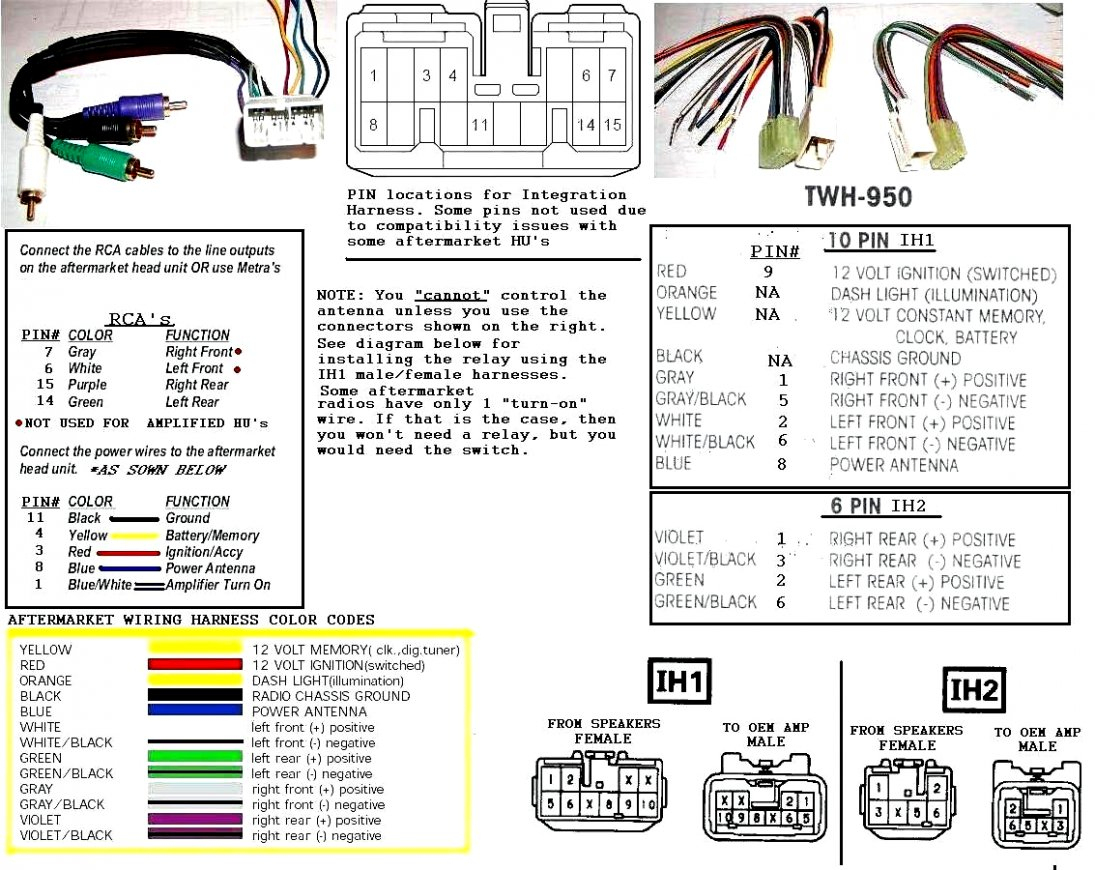 Pioneer Avh P4000Dvd Wiring Harness | Manual E-Books - Pioneer Avh P4000Dvd Wiring Diagram