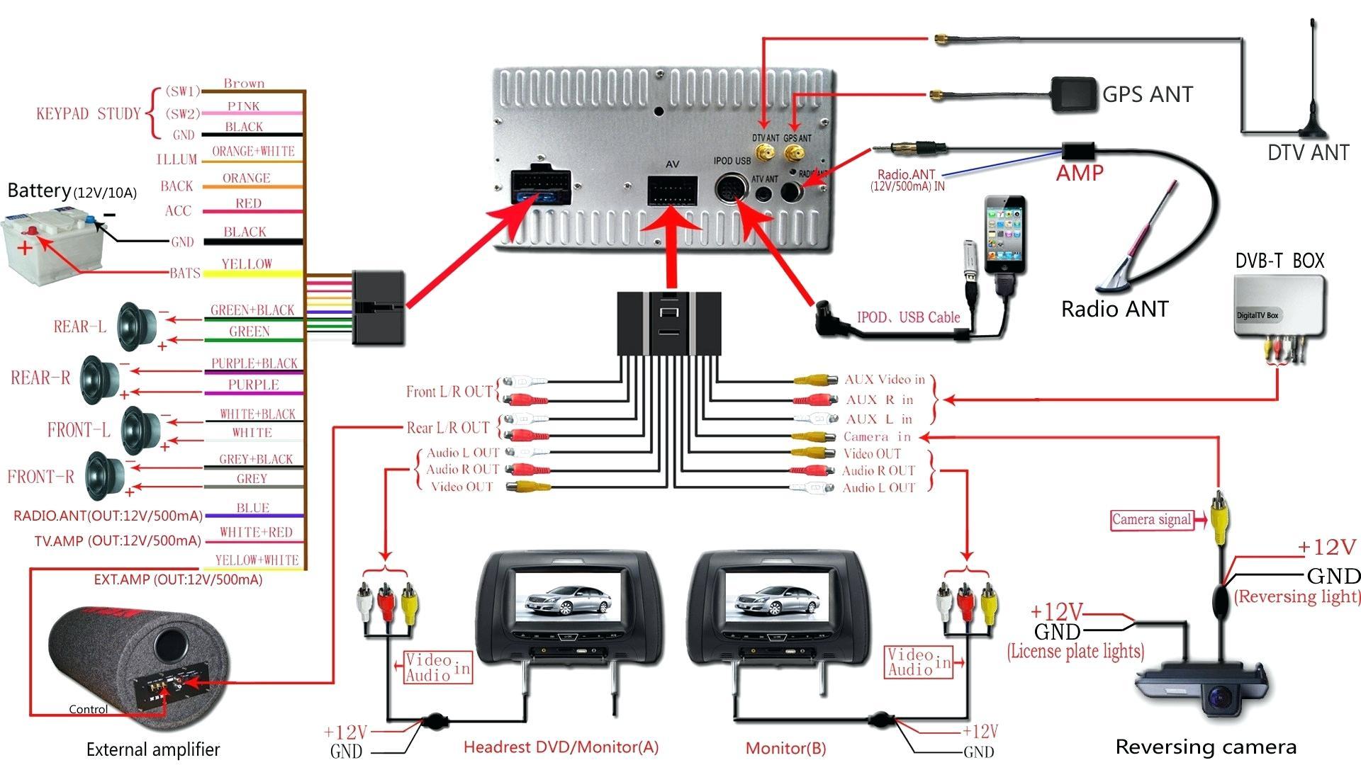 Pioneer Car Speaker Wiring Diagram - Free Wiring Diagram For You • - Car Speaker Wiring Diagram