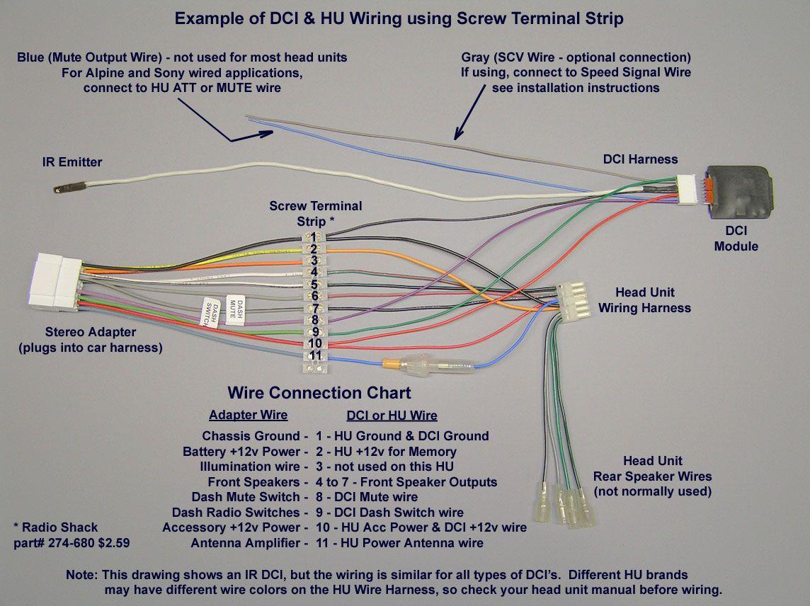 Pioneer Car Stereo Wiring Harness Diagram | Mechanic's Corner - Pioneer Radio Wiring Diagram