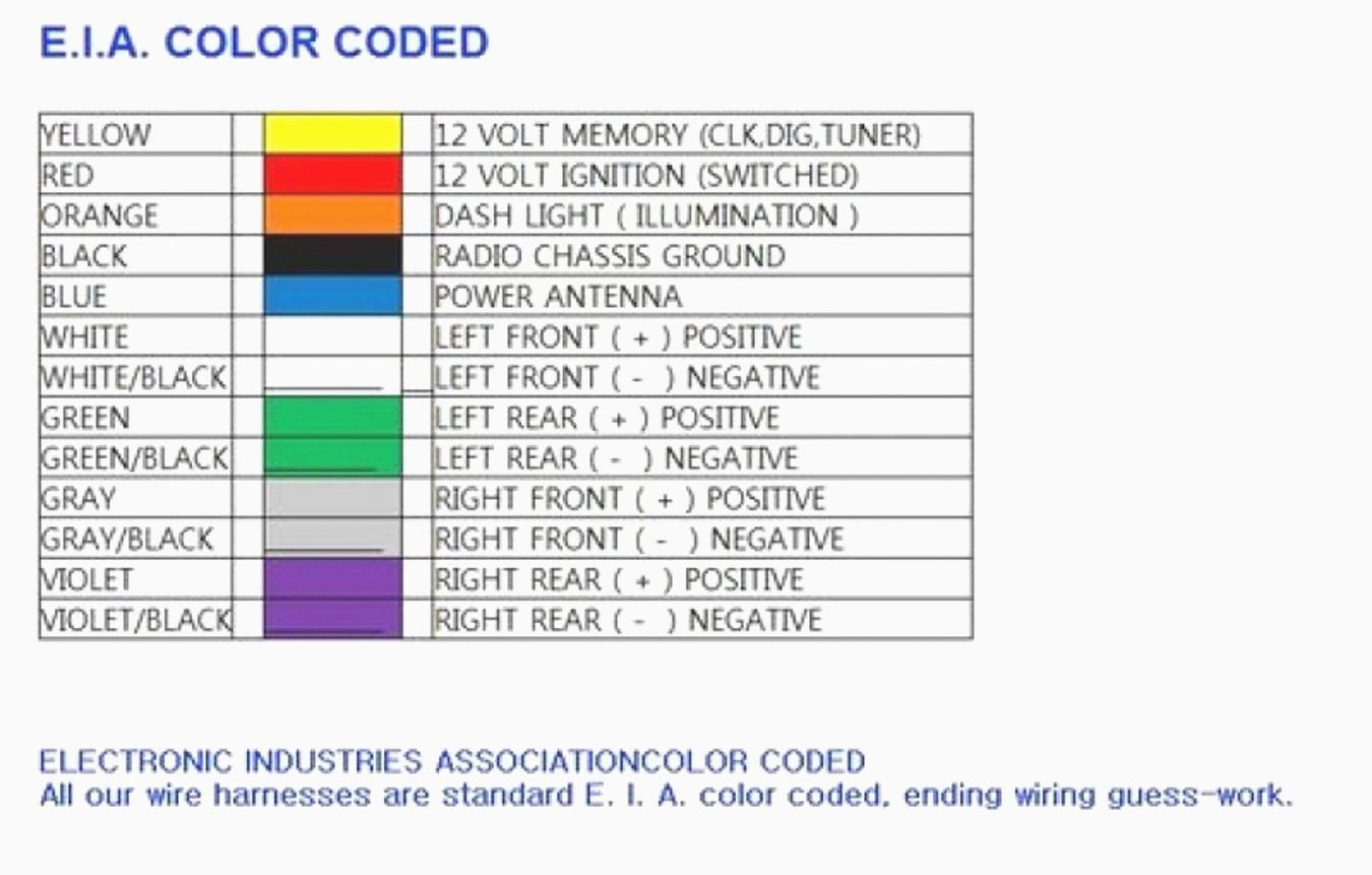 Pioneer Wiring Harness Diagram - Wiring Diagram Data - Pioneer Head Unit Wiring Diagram