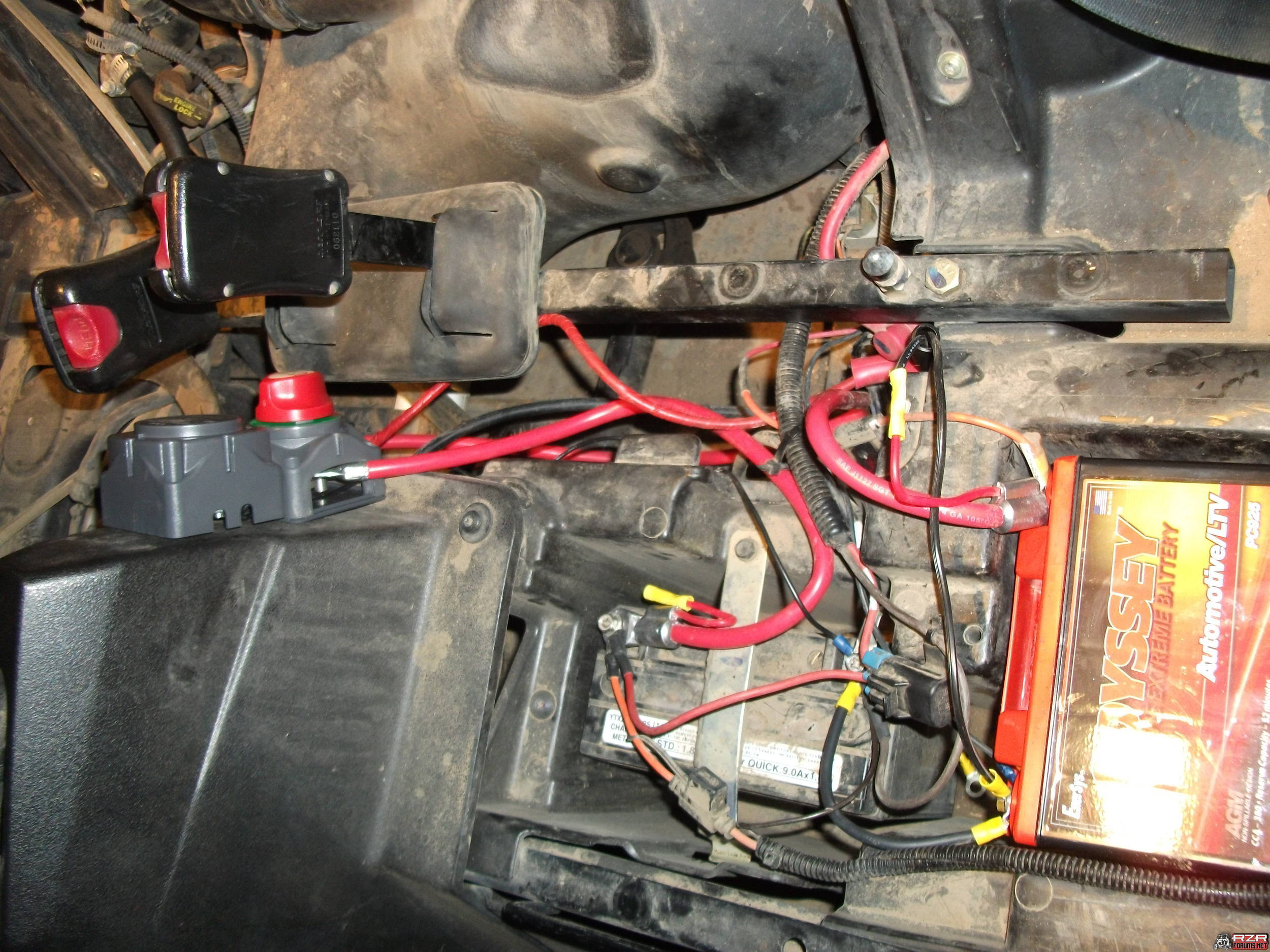 Polaris Ranger 500 Fuse Box | Wiring Library - Mercury Outboard Ignition Switch Wiring Diagram
