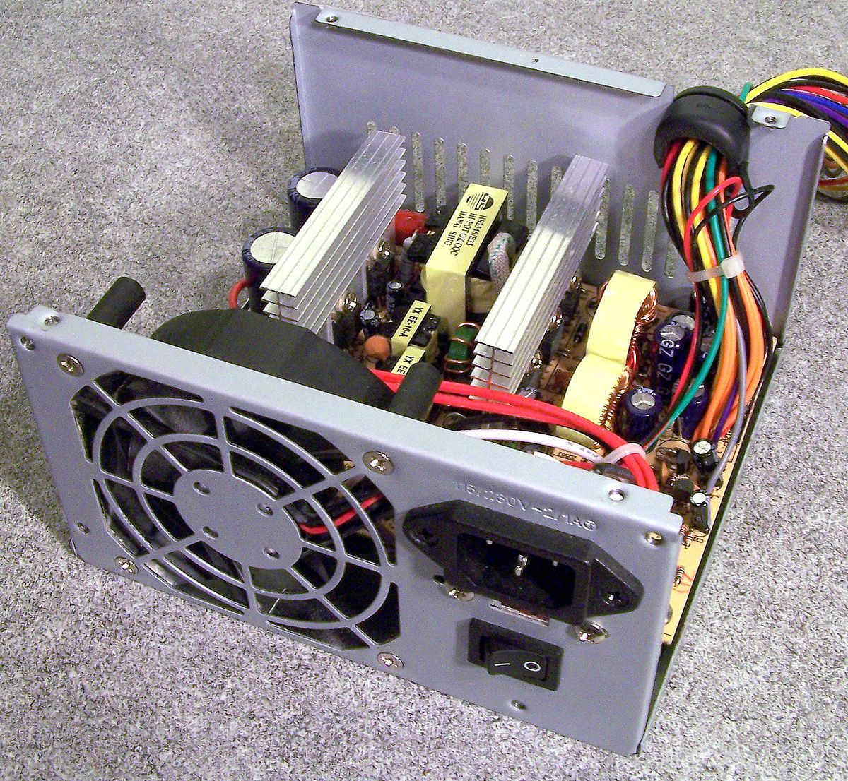 Power Supply Unit (Computer) - Wikipedia - Computer Power Supply Wiring Diagram