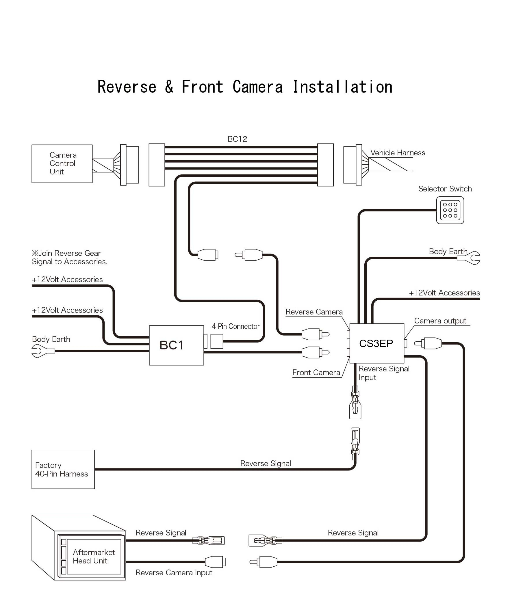 Prado Reverse Camera Wiring Diagram | Wiring Diagram - Toyota Reverse Camera Wiring Diagram