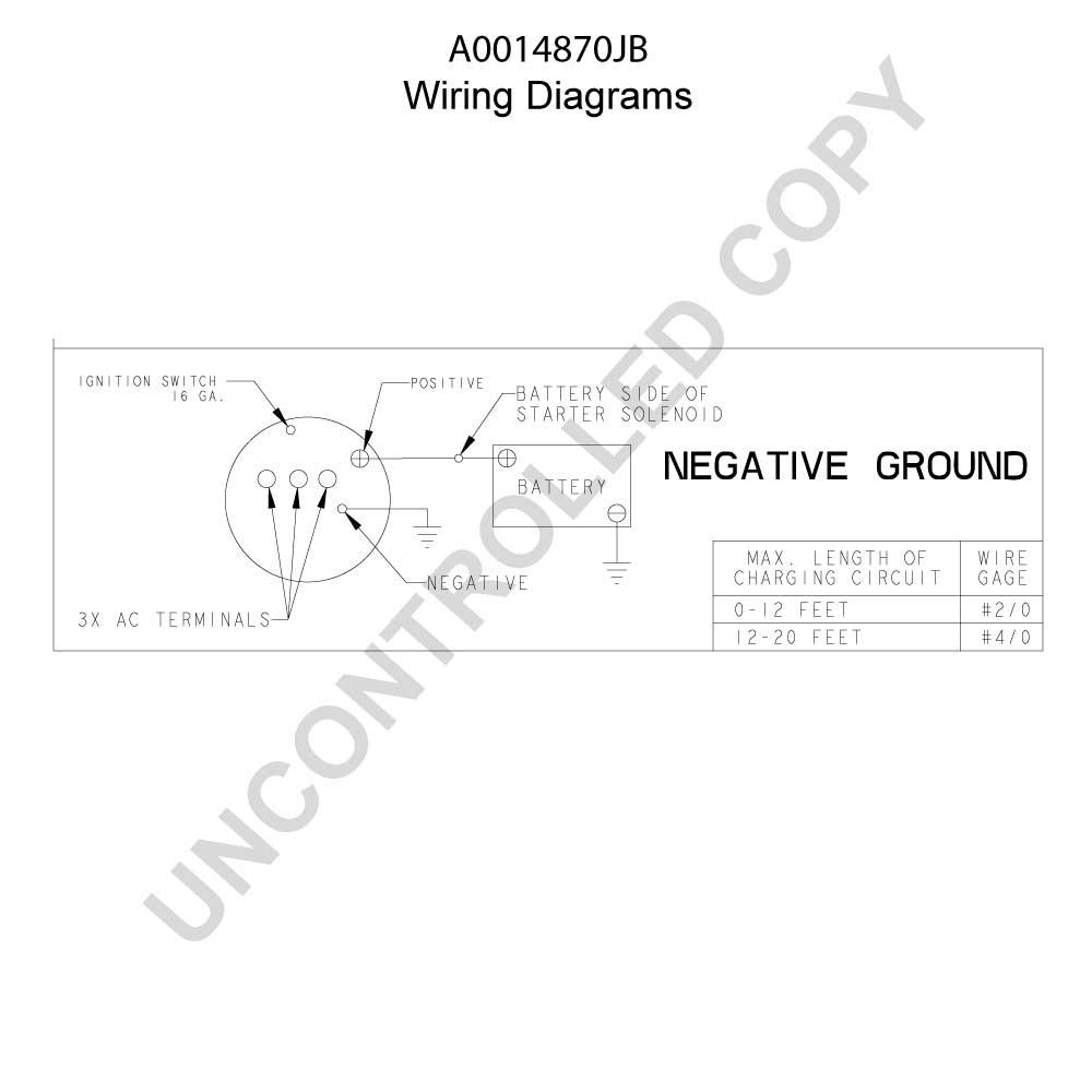 Prestolite - Leece Neville - Bbb Industries Wiring Diagram