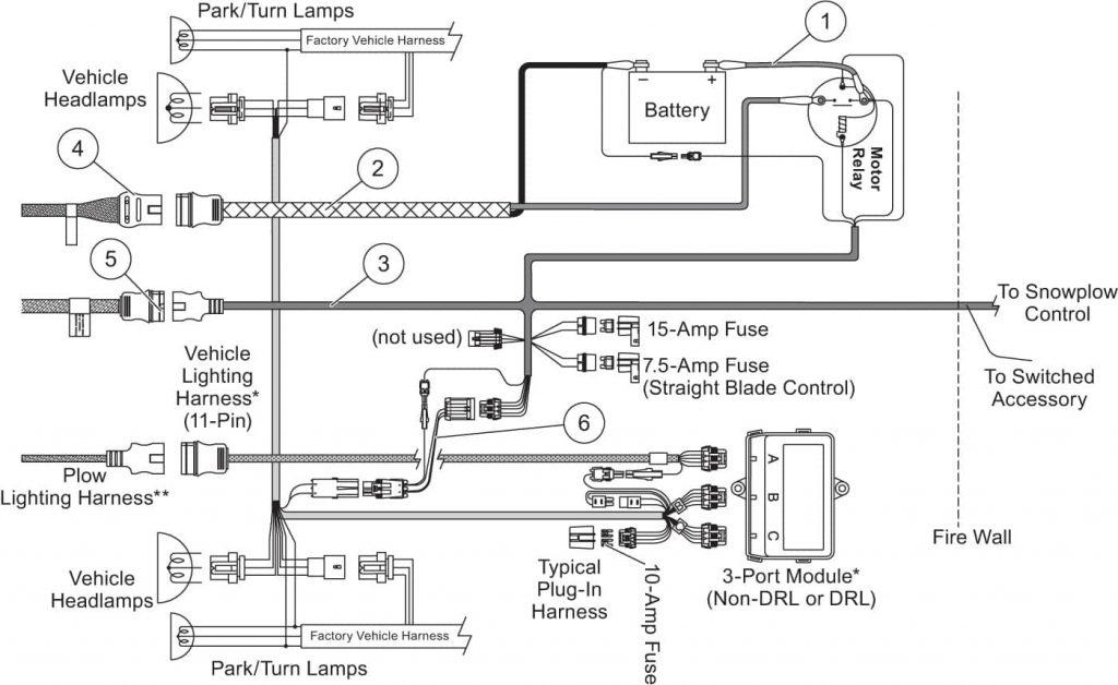 western plows wiring diagram wirings diagram