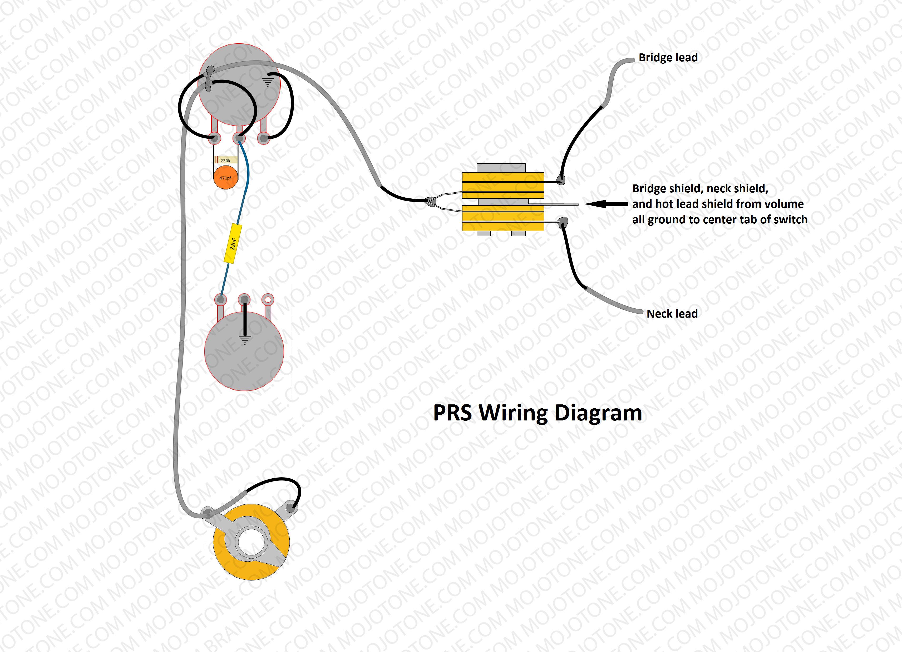 Prs Wiring Diagram - Prs Wiring Diagram