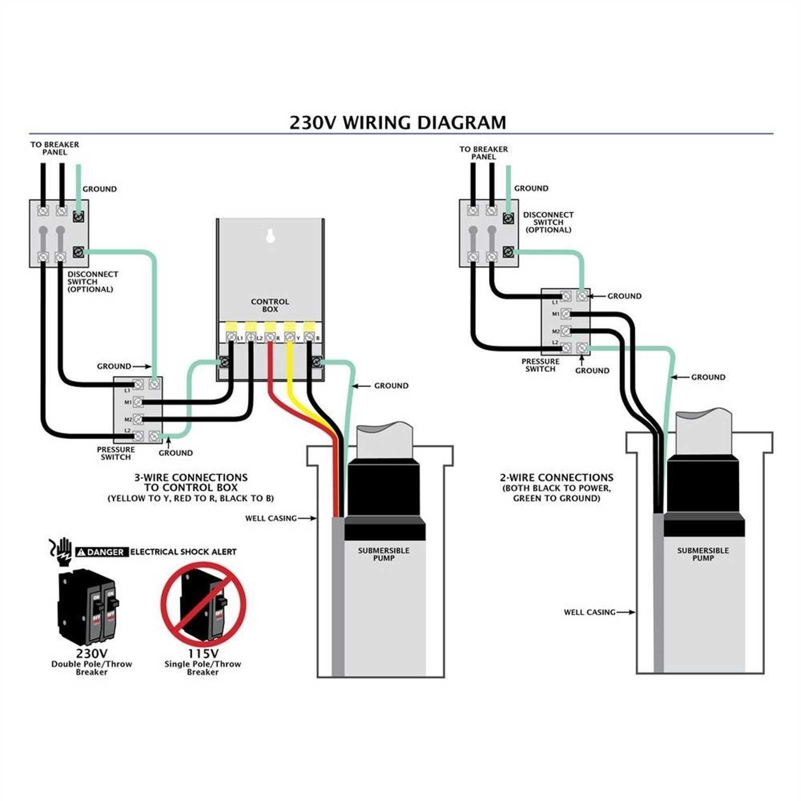 Pump Pressure Control Switch Wiring Diagram | Manual E-Books - Water on