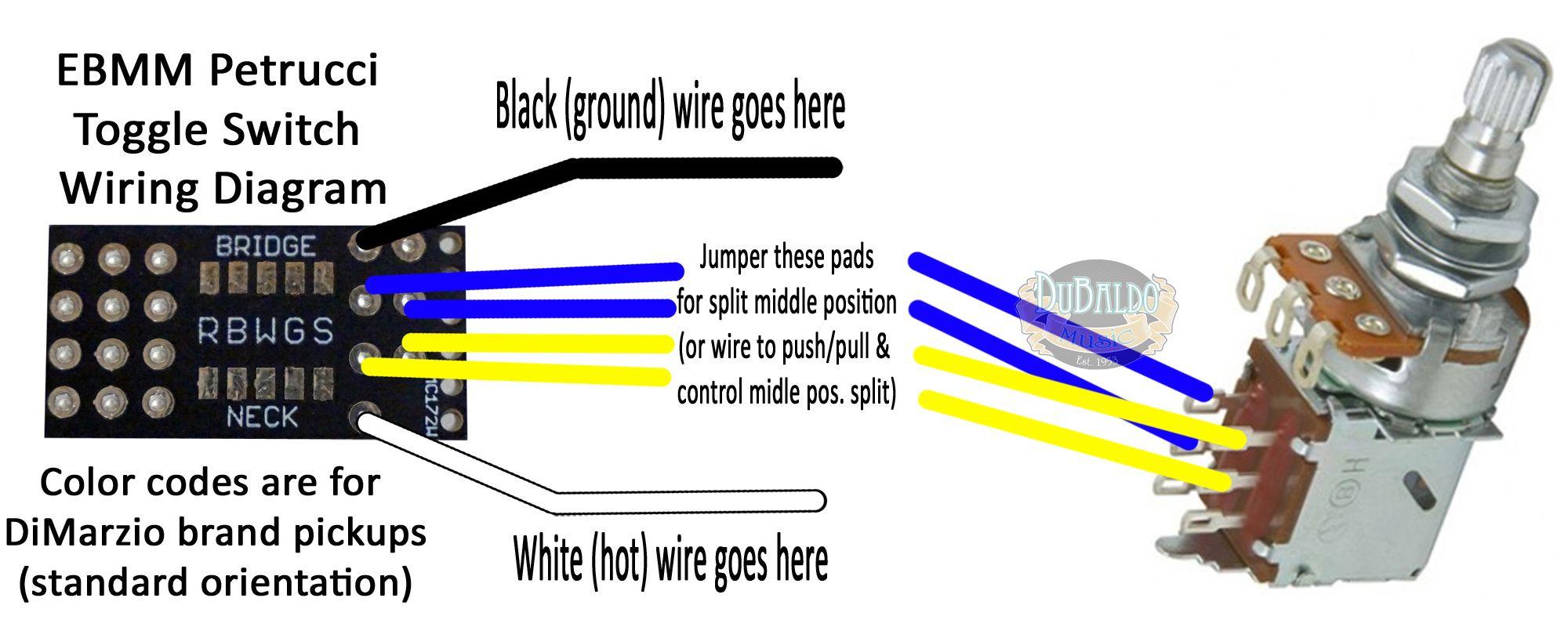 Push Pull Coil Tap Wiring Diagram | Manual E-Books - Coil Tap Wiring Diagram Push Pull