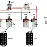 Push Pull Switch Guitar Pickups Hss Split Coil Wiring Diagram 1 Vol   Split Coil Humbucker Wiring Diagram