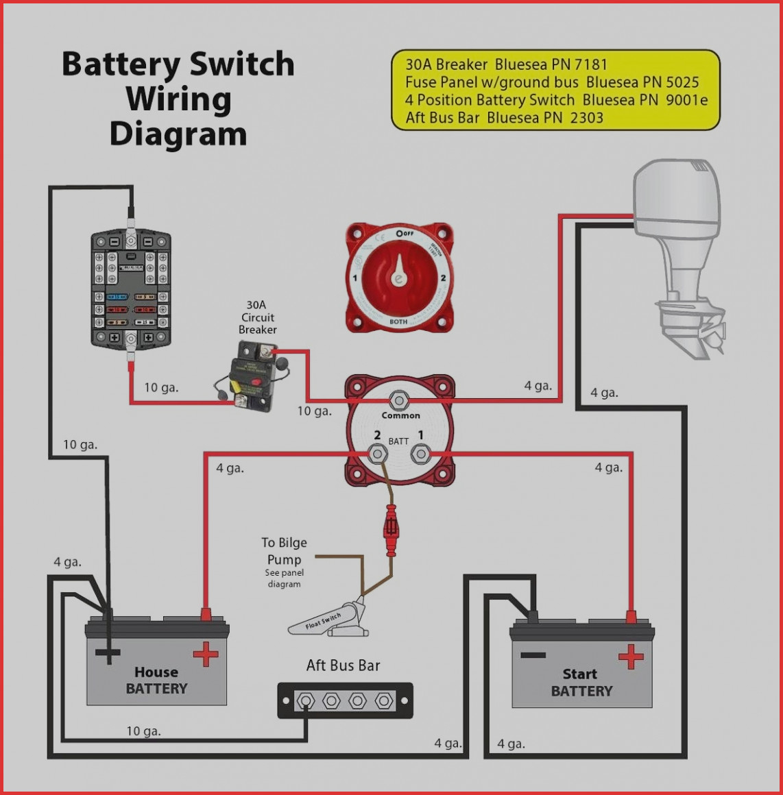 Quest Battery Isolator Wiring Diagram | Manual E-Books - 12V Battery Isolator Wiring Diagram
