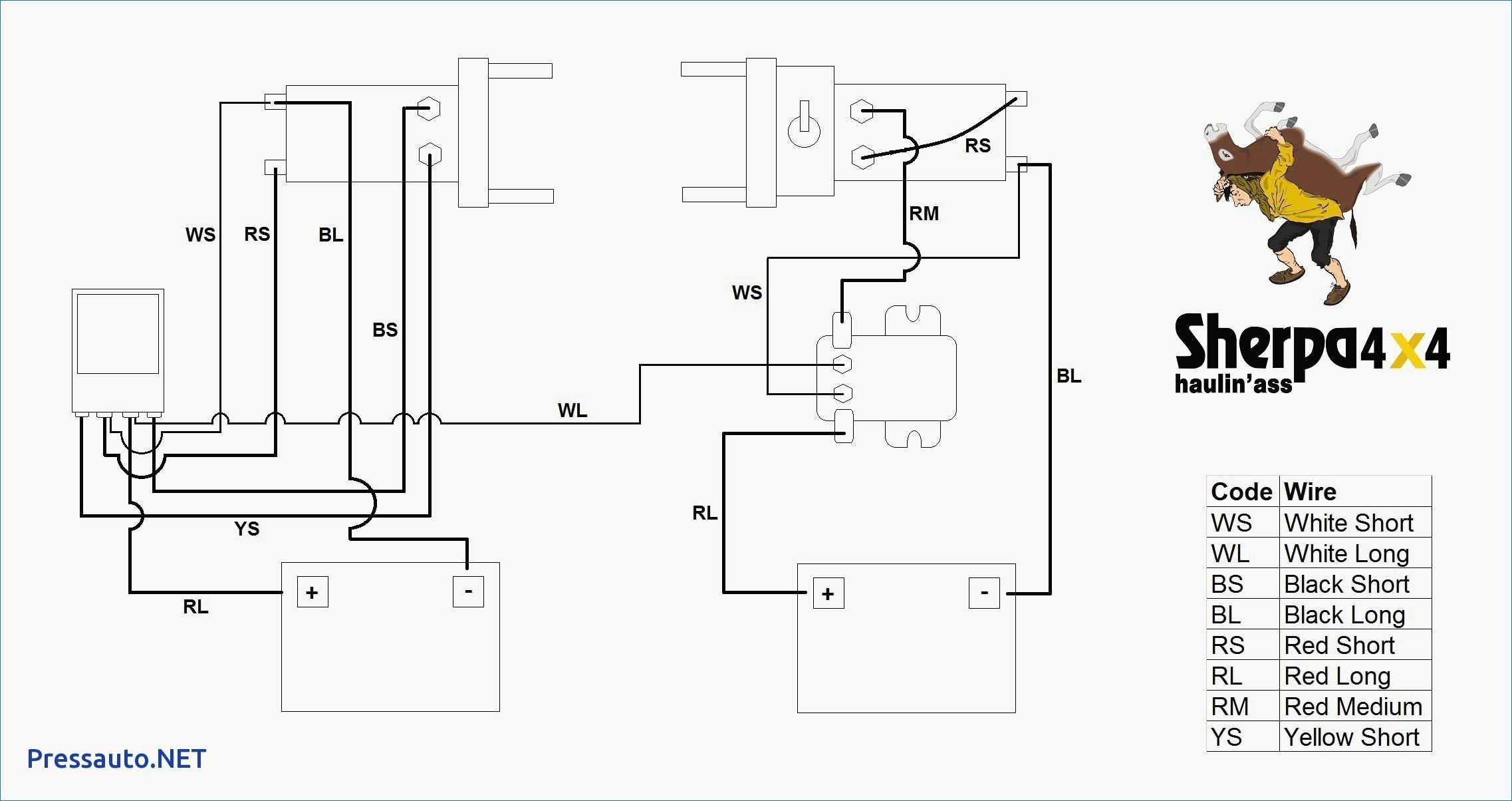 Ramsey Winch Solenoid Wiring Diagram New 12V   Wiring Diagram - Ramsey Winch Wiring Diagram