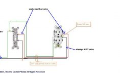 Receptacle Wiring Diagram 12 3   Wiring Diagrams Hubs   Switched Outlet Wiring Diagram