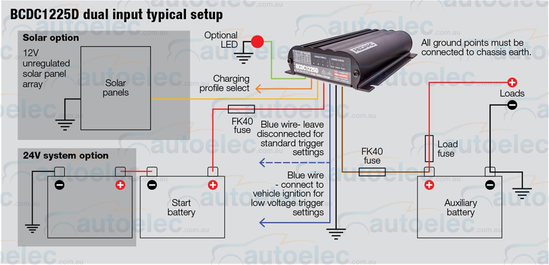 Sensational Redarc Bcdc1225D Dual Battery Isolator System Dc To Dc Mppt Solar Wiring Database Wedabyuccorg